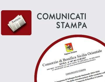 Approvato il finanziamento della ristrutturazione della condotta Lodigiani nel comprensorio dell'ex-Consorzio di Bonifica 9 Catania
